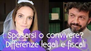 Sposarsi o convivere differenze legali e fiscali