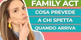 Family Act: l'assegno universale e le altre novità