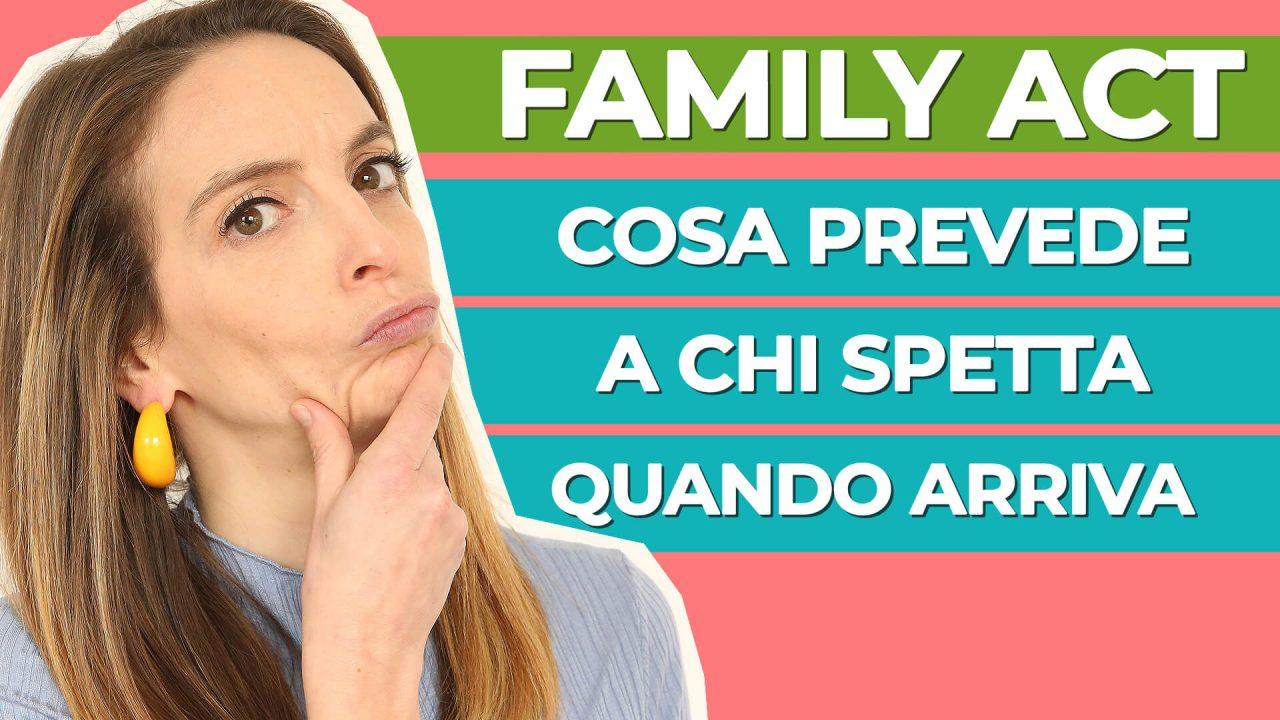 Read more about the article Family Act: l'assegno universale e le altre novità