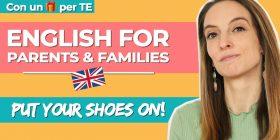 Come insegnare l'inglese ai bambini piccoli: mettiamo le scarpe!